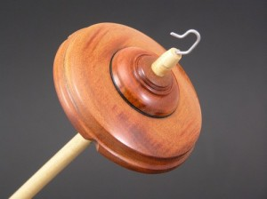 Jatoba Drop Spindle - Standard #607