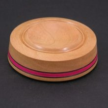 Cherry Support Bowl with Pink Ring