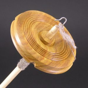 Canarywood Drop Spindle