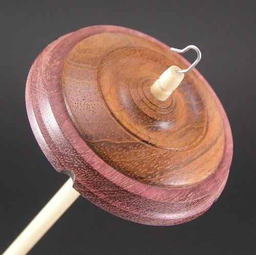 Jatoba and Purpleheart Drop Spindle #614