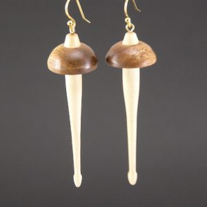 618 Che-Chen Drop Spindle Earrings