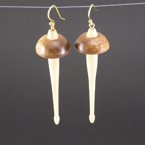 Che-Chen Drop Spindle Earrings
