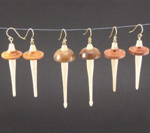 Drop Spindle Earrings
