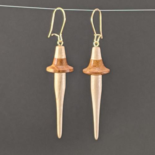 Earrings Small Canarywood