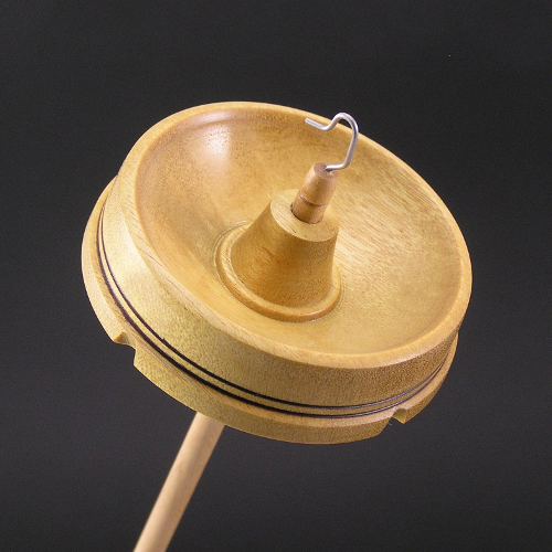 Yellowheart Drop Spindle