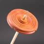 Padauk drop spindle