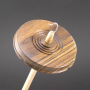 Bocote drop spindle