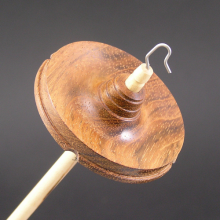 Drop Spindle Jatoba whorl