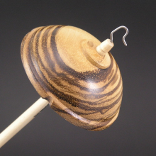 Drop Spindle - Zebrawood - #701