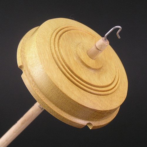 Drop Spindle Yellowheart Whorl #140