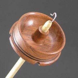Drop Spindle - Bubinga - 413 - Mini