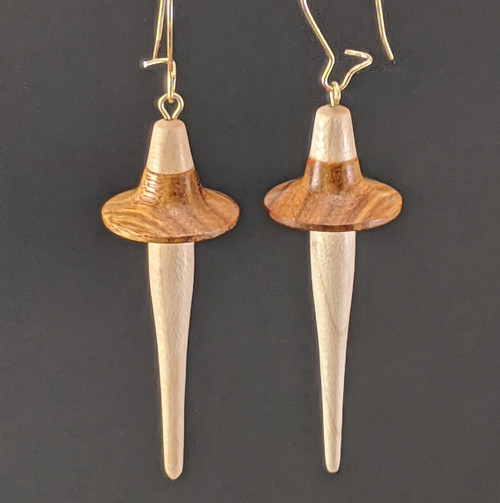 Earrings Medium Canarywood