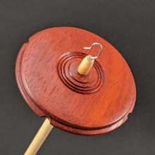 Drop Spindle - Padauk #419 - Standard