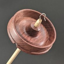 Drop Spindle #902 - Purpleheart - Standard