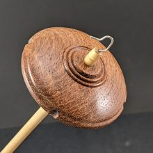 414 Drop Spindle - Sapele Maxi